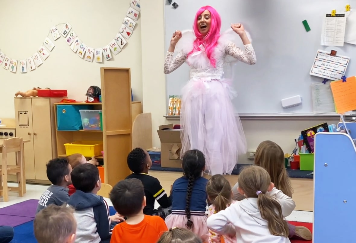 tooth fairy community outreach at pre school