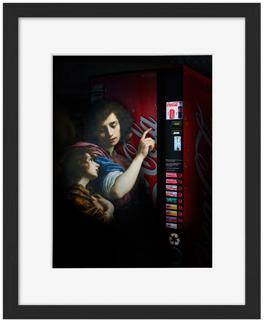 Vending Machine - Blue Shaker - Poster Affiche -
