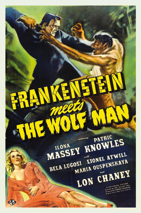Frankenstein meets the Wolf Man - BLUE SHAKER