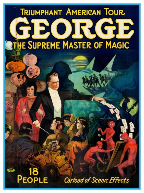 George - Supreme Master of Magic - BLUE SHAKER