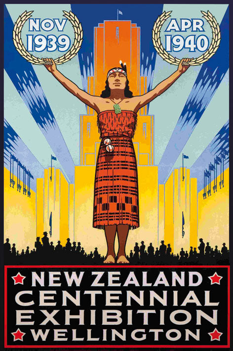 World Fair WELLINGTON 1939 - BLUE SHAKER