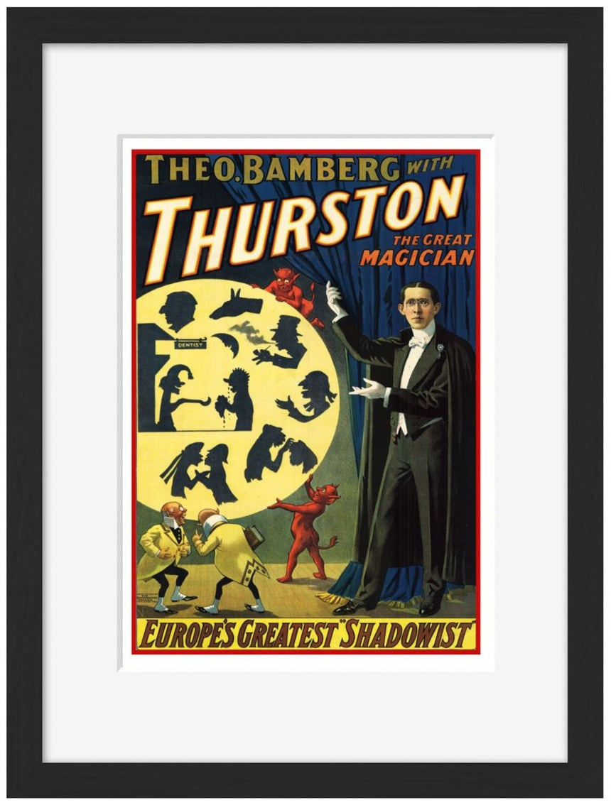 Thurston - Europe Greatest Shadowist - BLUE SHAKER