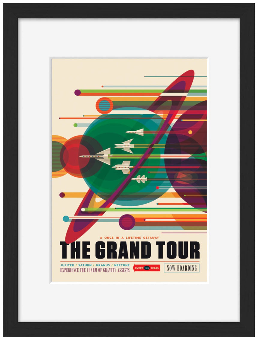 The Grand Tour - Blue Shaker - Poster Affiche -