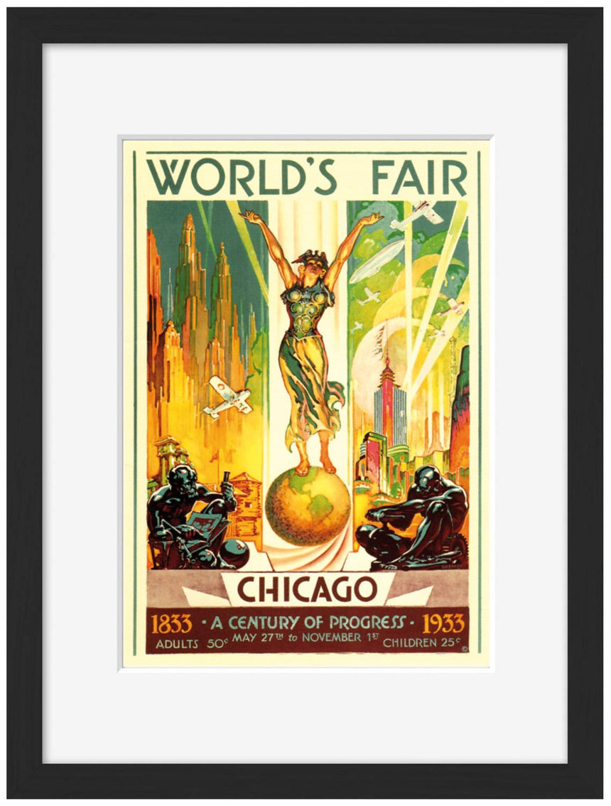 World Fair WELLINGTON 1939 - Blue Shaker - Poster Affiche -