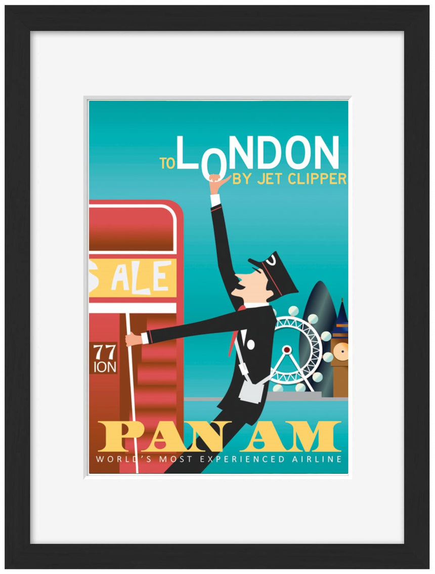 London PAN AM - BLUE SHAKER