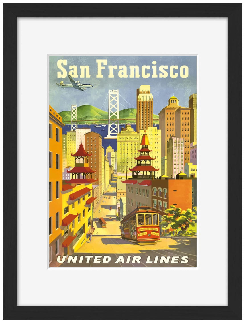 San Francisco United Airlines - BLUE SHAKER