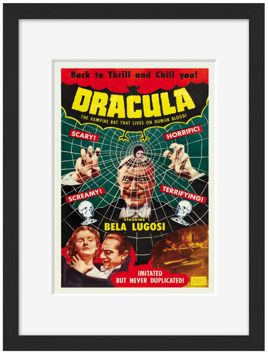 Dracula - Blue Shaker - Poster Affiche -