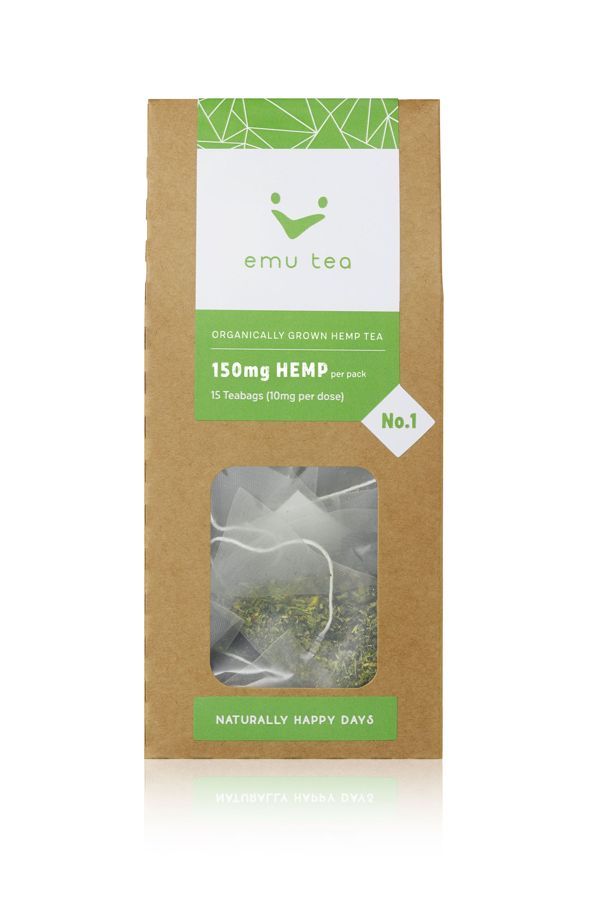 Organic Tea - 150mg CBD