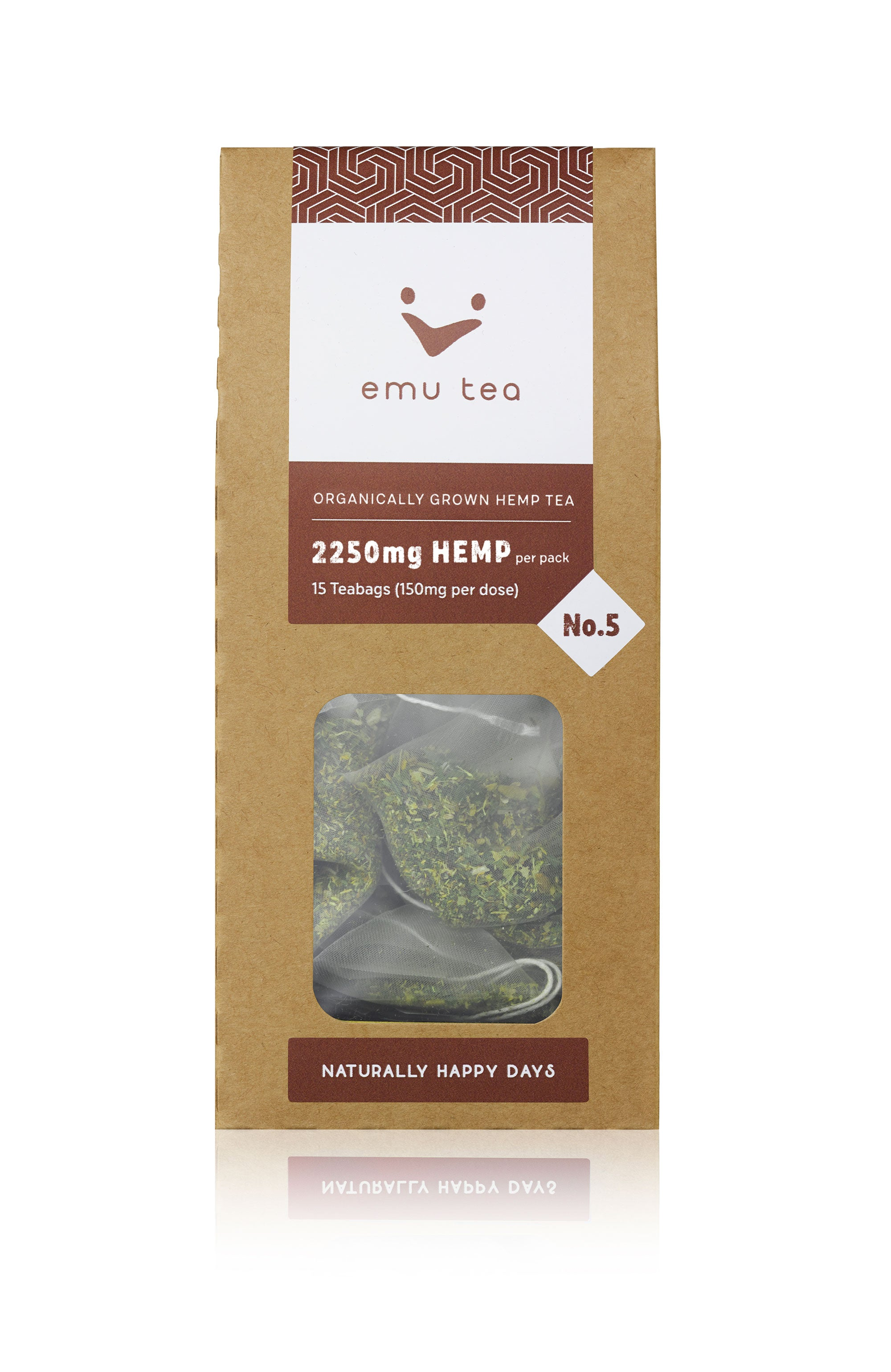 Organic Tea - 2,250mg CBD