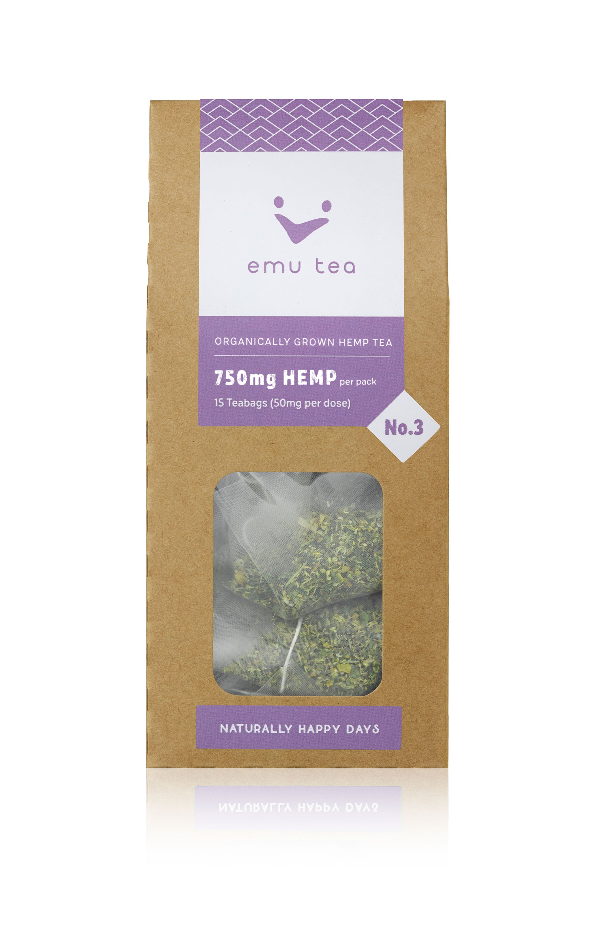 Organic Tea - 750mg CBD