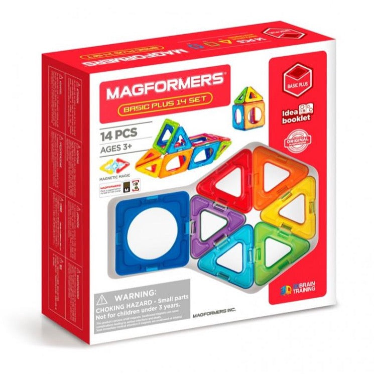 Magformers Basic Plus 14 dele - Legeslottet