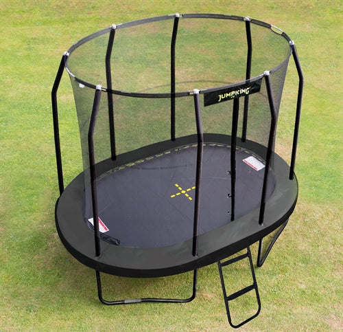 Jumpking Trampolin Oval Black 3,5 x 2,44 m - Legeslottet