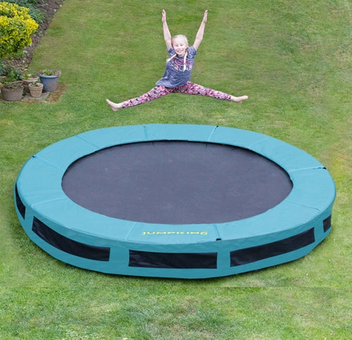 Jumpking Inground Trampolin - 366 cm - Legeslottet