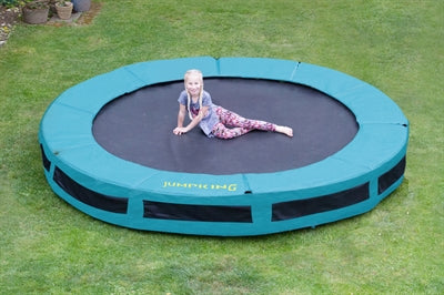 Jumpking Inground Trampolin - 430 cm - Legeslottet