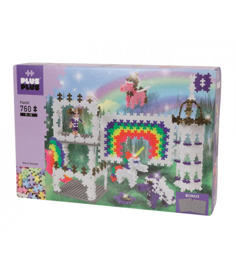 Plus-Plus Rainbow Castle / 760 brikker