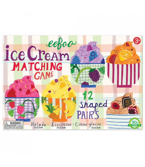 Ice Cream Matching Game