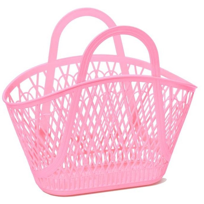 Sun Jellies Betty Basket - Pink