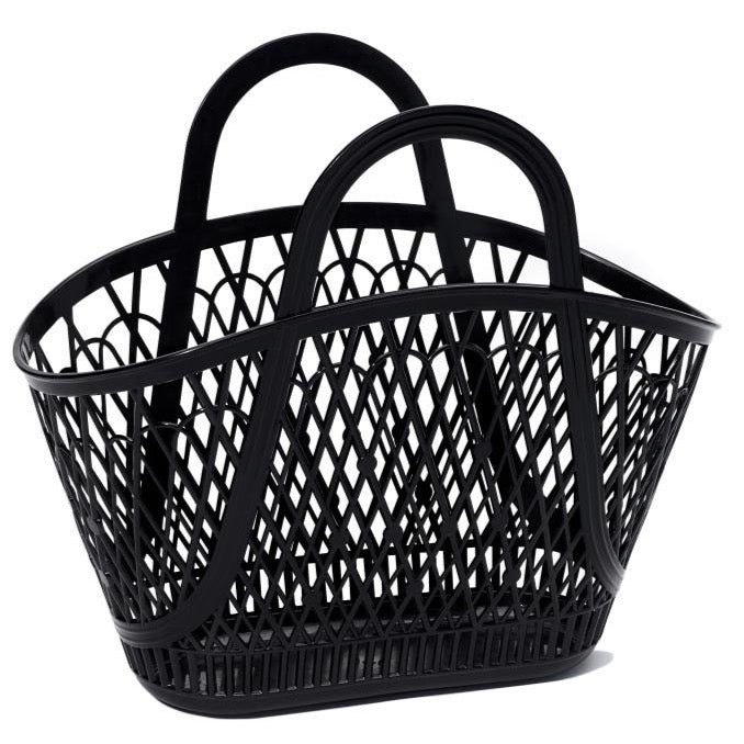 Sun Jellies Betty Basket - Black