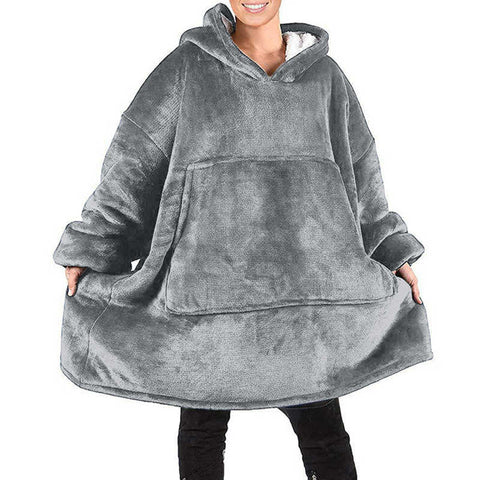 Over-Sized Hoodie makes it comfortable for every size - One Size Fits All