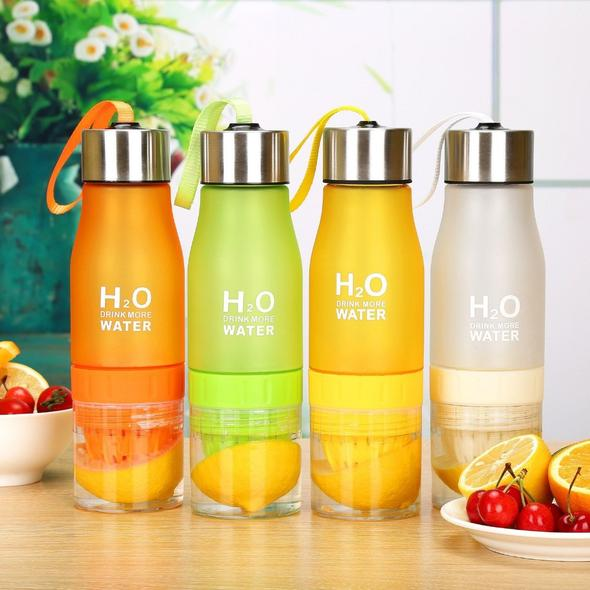 Juicy Water Plus™ - Fruit Infusion Water Bottle - LiquidDiffuser