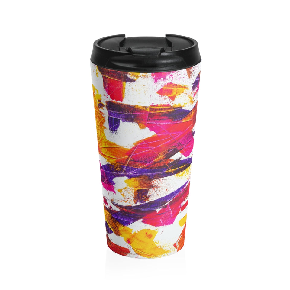 Stainless Steel Travel Mug - LiquidDiffuser