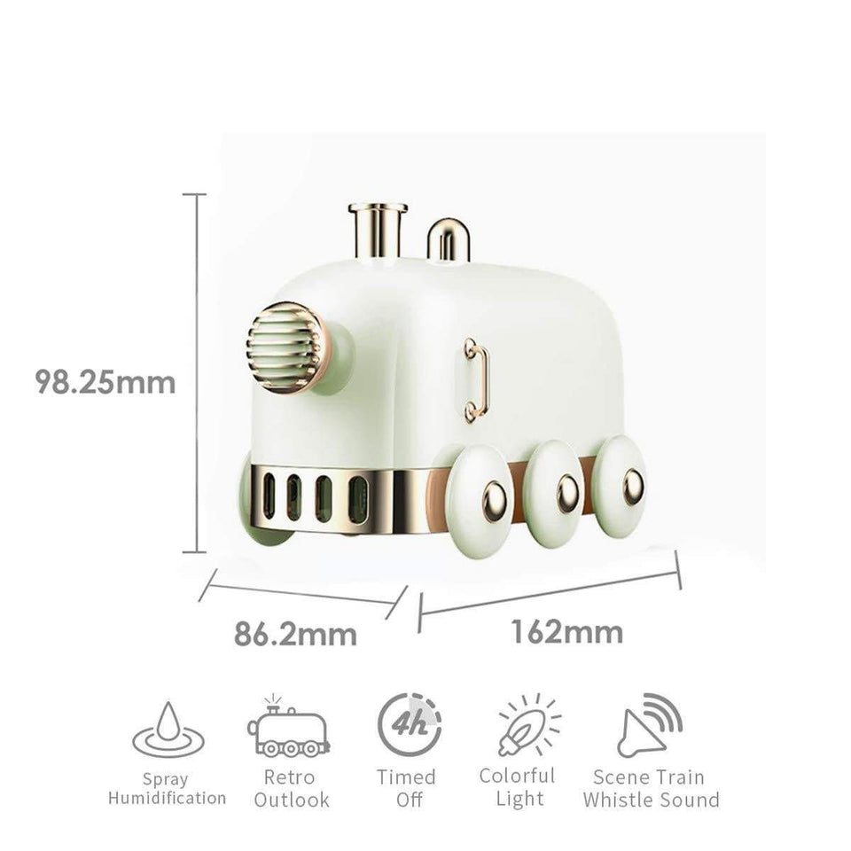 300ml Mini Train Humidifier - LiquidDiffuser