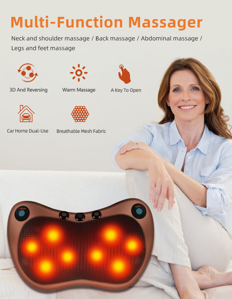 Relaxation Massage Pillow - LiquidDiffuser