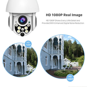 Outdoor Waterproof Security Camera 1080P - LiquidDiffuser