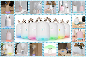 220ml Ultrasonic Deer Humidifier - LiquidDiffuser