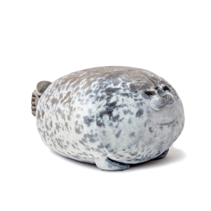 Fluffy Plush Seal Pillow - LiquidDiffuser