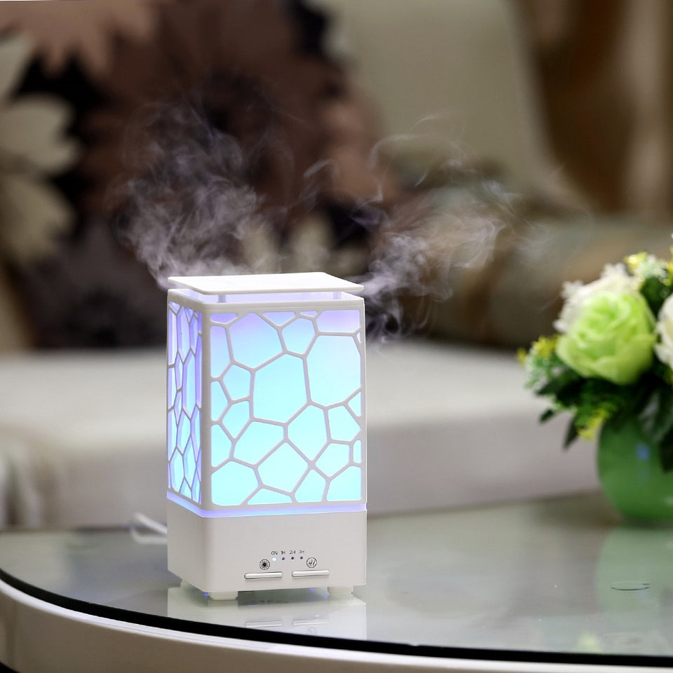 200ml Water Cube Ultrasonic Humidifier - LiquidDiffuser