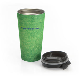 Green Stainless Steel Travel Mug - LiquidDiffuser
