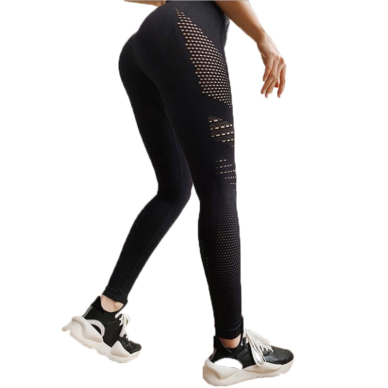 High Waist Sports Leggings - LiquidDiffuser