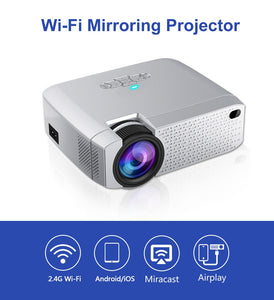 D40W Mini Projector - Support HD - LiquidDiffuser