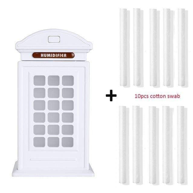 300ml London's Telephone Booth Humidifier - LiquidDiffuser