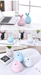 200ml Mini Rabbit Ultrasonic 3 in 1 Humidifier - LiquidDiffuser