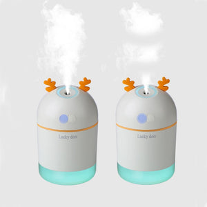 400ml Ultrasonic Deer Humidifier - LiquidDiffuser