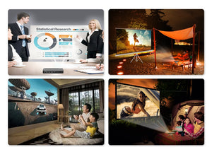P12 Newest Smart Projector - Full HD - LiquidDiffuser