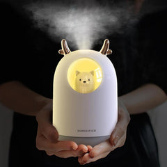 300ml Mini Bear Humidifier Essential Oil Diffuser