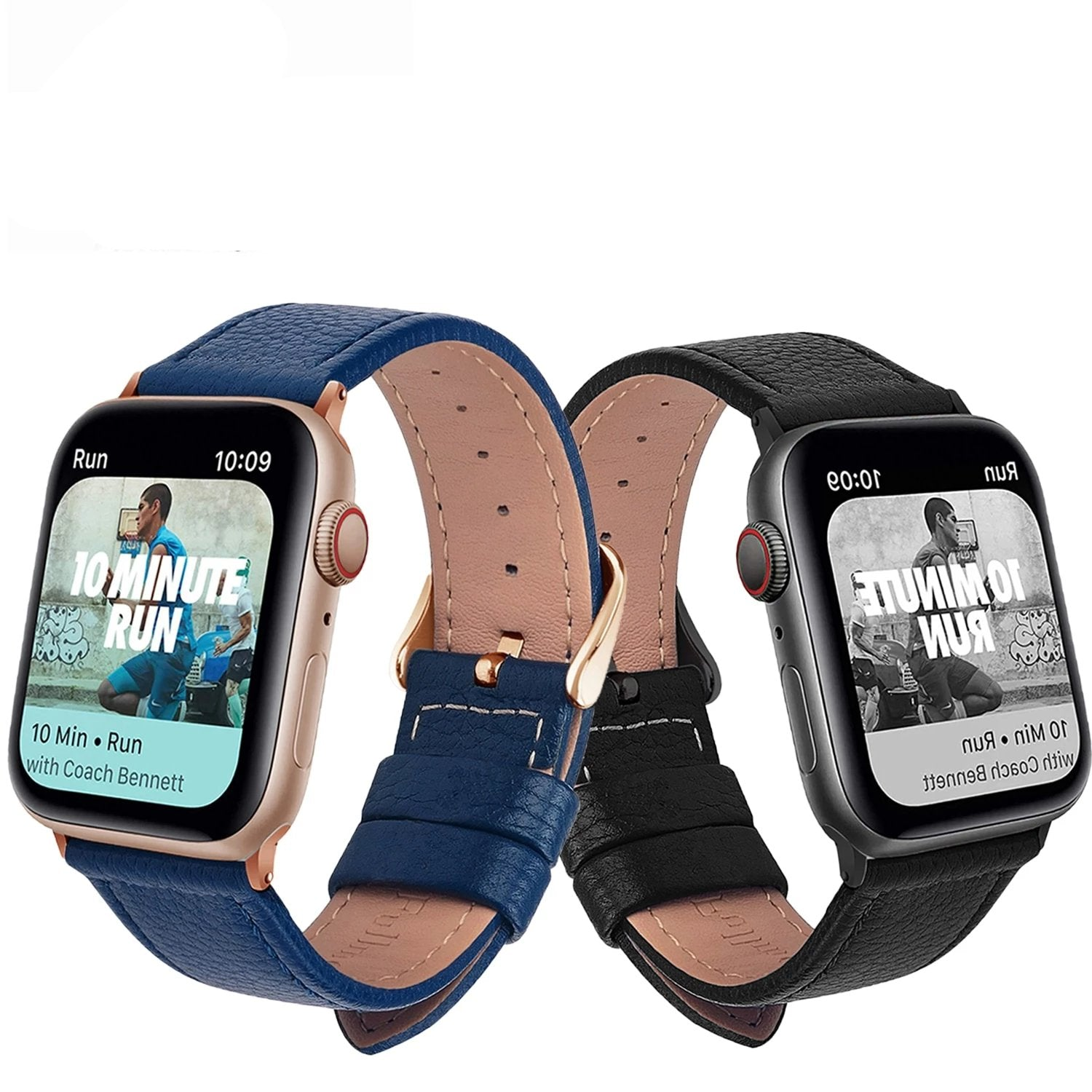 Leather Watchband for Apple Watch - liquiddiffuser.myshopify.com