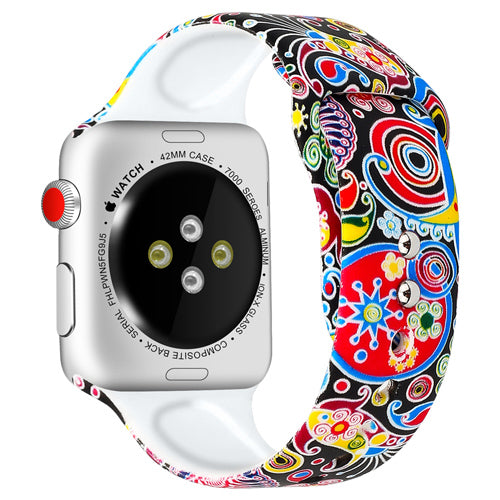 Printing Silicone Strap for Apple Watch Band - LiquidDiffuser