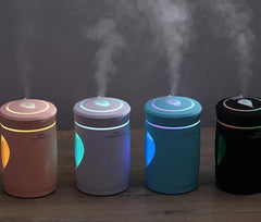 220ml Ultrasonic Humidifier Small Humidifiers With Light