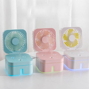 250ml 3 In 1 Mini USB Humidifier - LiquidDiffuser