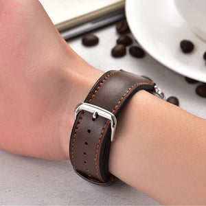 Leather Watch Band for Apple Series - LiquidDiffuser
