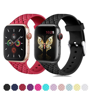 Woven Silicone Strap for Apple Watch - LiquidDiffuser