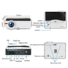 Mini Smart Projector - Android, 1080p HD Resolution - LiquidDiffuser
