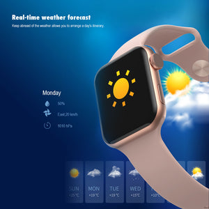Smart Watch With Fitness Monitor - LiquidDiffuser