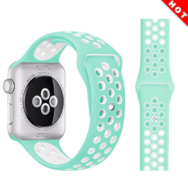 Fashionable Sport Silicone Watch Strap - LiquidDiffuser