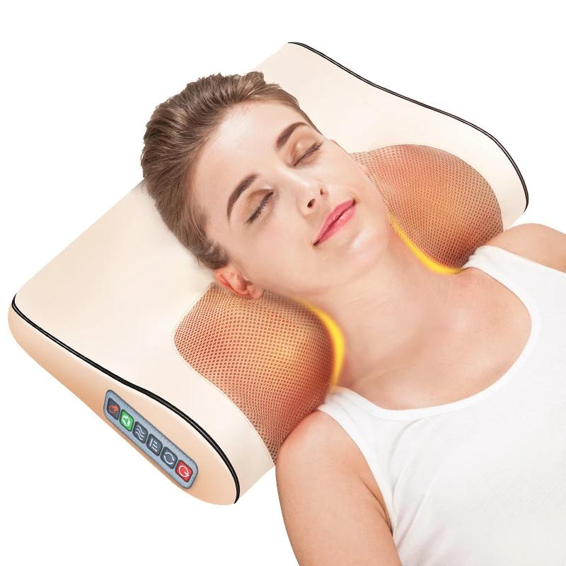 Heating Pillow - Neck Massager - LiquidDiffuser