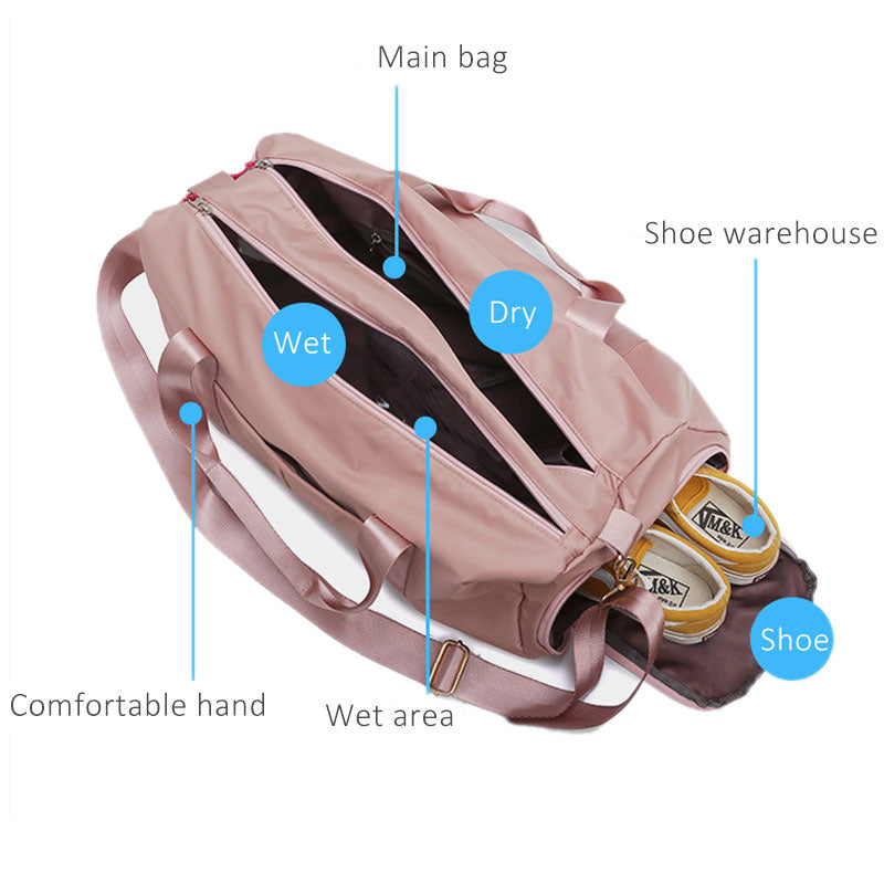 Waterproof Nylon Sport Bag - LiquidDiffuser